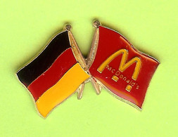 Pin's Mac Do McDonald's Allemagne Drapeau - 6D19 - McDonald's