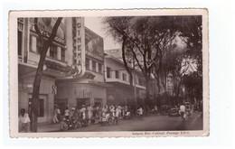 Viet Nam Saigon Rue Catinat Passage Eden Cinéma Lutece CPSM PF Moto - Vietnam