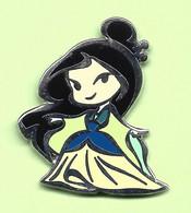 Pin's BD Disney Princesse Mulan - 6D24 - Disney