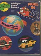 (jouets-étrennes)  Catalogue Noël 1980 GM (CAT2026) - Pubblicitari