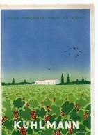 E 5 1942 Carte Entete établissement Kulhmann à Pontivy - Poststempel (Briefe)