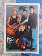 DEPECHE MODE - Bravo Autogrammkarte - Autographs