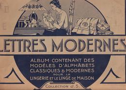 LINGERIE Et LE LINGE DE MAISON - ALBUM De 24 Pages De LETTRES MODERNES Collection J. S. Cartier Bresson - Fashion
