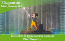 USA - Walt Disney World, Disney Pass, Used - Disney