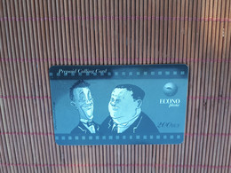 Laurel & Hardy Prepaidcard Used Low Issue  Rare - Comics