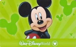 USA - Mickey Mouse, Walt Disney World, Disney Pass, Unused - Disney