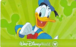 USA - Donald Duck, Walt Disney World, Disney Pass, Unused - Disney