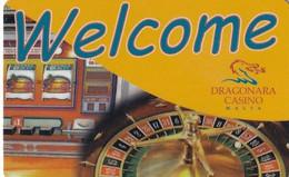 MALTA - Dragonara Casino Card, Used - Casinokarten