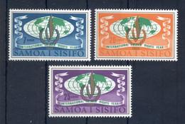 SAMOA * 1968 * Complete Set 3 Stamps * MNH** Human Rights Year - Mi.No 182-184 - Samoa