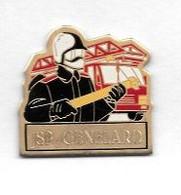 Pin's  Sapeurs  Pompiers  De  GENELARD  ( 71 ) - Feuerwehr