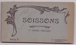 CARNET 02 SOISSONS 12 CARTES - Soissons