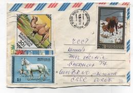 Mongolia HORSE CAMEL COVER - Mongolia