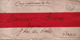 LETTRE CHINE FRANCE CAMPAGNE 1901 CACHET TRESOR ET POSTES AUX ARMEES - Historische Dokumente