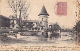 60. COYE. CPA . LE MOULIN DES BOIS . VUE PRISE DE LA PRAIRIE. ANNÉE 1903 + TEXTE - Frankreich