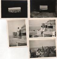 FAMILIE   FOTOS   -   (  FIRMA - TAPISSIERS    STEVENS  &   (  DIDDEN  ?  )  8.50 OP 6  CM   DUINBERGEN  1947 - Foto's