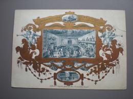 GAND/GENT - AU GRAND SALON DE TIVOLI - HORS LA PORTE DE BRUXELLES - CARTE PORCELAINE 6.5 X 11.5 - Gent