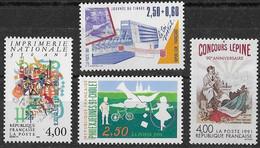 FRANCE N°2688,2690,2691 Et 2694 **  Neufs Sans Charnière Luxe MNH - France