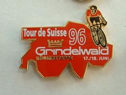 PIN'S CYCLISME VELO - TOUR DE SUISSE 96 - Ciclismo
