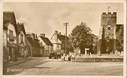 ENGLAND ESSEX  BRADWELL ON SEA   VILLAGE  +CHURCH + TRACTOR RP Pu 1954 - Andere