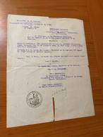 MINISTERE DE LA JUSTICE 1892 - Document De Naturalisation ( Voire Scan )  Port Offert - Historische Dokumente