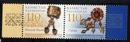KAZAKHSTAN 2006, Bijoux, émission Commune Avec La Lettonie, 2 Valeurs, Neufs / Mint. R2025 - Kazachstan