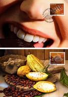 2 Maximumkarten 2020 Schokolade + Kakaobohne / Chocolate + Cocoa Bean - Maximumkarten (MC)