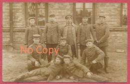 "Jabłonna (Legionowo) - Polska Polen Photo Carte Deutsche Soldaten "" 4 Komp. III. Batl. Ers. Tr. Warschau ""  Krieg 14-18 - Poland"
