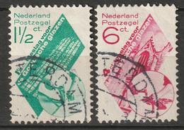 Netherlands 1931 Sc B48-9  Complete Set Used - Usados