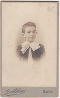 Photographie CDV / Jeune Garçon (Pierre Nicaud) En Médaillon - 1903 - Identifizierten Personen