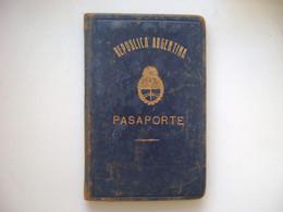 ARGENTINA - PASSPORT ISSUED IN 1958 IN THE STATE - Historische Dokumente