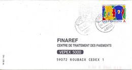LUXEMBOURG. N°1492 De 2001 Sur Enveloppe Ayant Circulé. Année Européenne Des Langues. - Unclassified