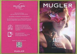 MUGLER * NOVA * CARD * V/R  *  12 X 17,2 Cm - Duftkarten