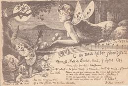 CPA ( LUTINS), O Du Mein Holder Abendstern(b.bur Theme) Suisse - Non Classificati