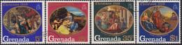 GRENADA 1968 SG 326-29 Compl.set Used Christmas - Grenada (...-1974)