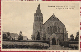 Houthulst De Kerk En Het Klooster (In Zeer Goede Staat) - Houthulst