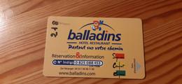 Balladins Hotel Key Card - Chiavi Elettroniche Di Alberghi