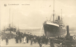 Turkije Turkey - Constantinople - Port De Galata - Schip Boot - 1915 - Turkije