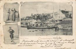 Turkije Turkey - Constantinople - Banque Imp Ottoman - Bohemiennes Dansantes Seutari - 1899 - Turkije