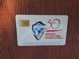 Phonecard Monaco  Used Only 20.000 EX Made Rare - Mónaco
