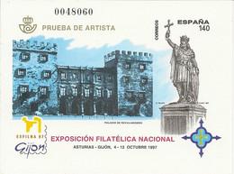España Prueba Oficial  Edifil 64  Exfilna'97    Gijón NL991 - 1931-Hoy: 2ª República - ... Juan Carlos I