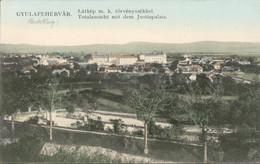 Roemenië Romania - Gyulafehervar Alba Iulia  Justizpalais - Torvenyszekkel -  1916 - Rumänien