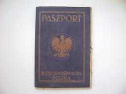 POLAND / POLSKA - PASSPORT WITH EMIGRANT VISA IN BRAZIL IN 1930 IN THE STATE - Historische Dokumente