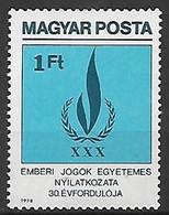 UNGHERIA 1979 DICHIARAZIONE DEI DIRITTI DELL'UOMO YVERT. 2646 USATO VF - Used Stamps