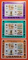 KENIA UGANDA TANZANIA - Timbres