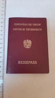 +++ Austria - Österreich - Passport Passeport 2008 Visa Uganda Rwanda Kenya Russia Tanzania Namibia India - Historische Dokumente