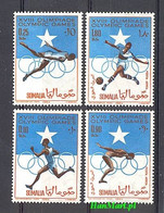 Somalia 1964 Mi 60-63 MNH ( ZS4 SML60-63 ) - Summer 1964: Tokyo