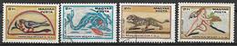 UNGHERIA 1978 GIORNATA DEL FRANCOBOLLO YVERT. 2625-2628 - Used Stamps