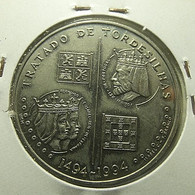Portugal 200 Escudos 1994 Tratado De Tordesilhas - Portogallo