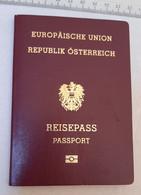 +++ Austria - Österreich - Passport Passeport 2016 Without Visa - Historische Dokumente