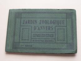 JARDIN ZOOLOGIQUE D'ANVERS - 2me Série ( Ancien Ets. HERMANS ) Carnet 10 Kaarten ( Zie / Voir Photos ) ZOO ! - Antwerpen